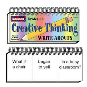Creative Thinking Write-Abouts
