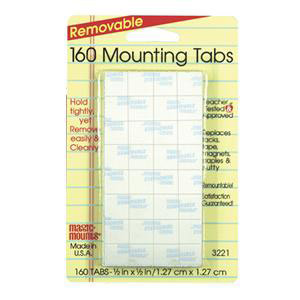"160 Mounting Tabs-1/2"" x 1/2"""