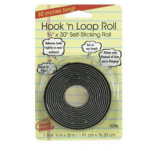 """Hook 'n Loop Roll-3/4""""x30"""""""