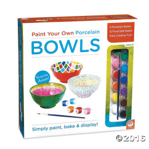 Paint Your Own Porcelain Bowls