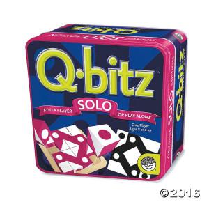 Q-bitz Solo Game: Magenta
