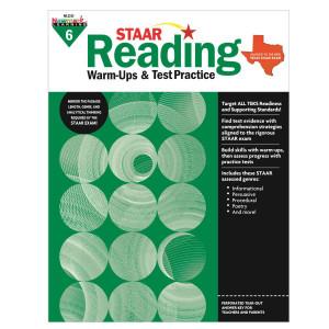 STAAR Reading Warm-Ups & Test Practice Grade 6