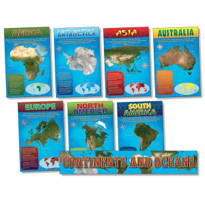 Continents & Oceans Bulletin Board