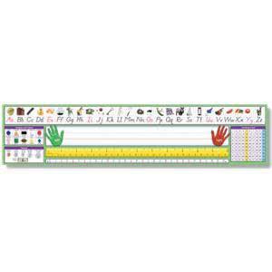 Modern Manuscript Adhesive Nameplates