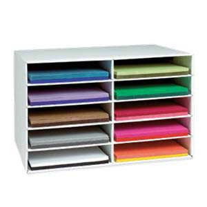 12X18 Construction Paper Storage