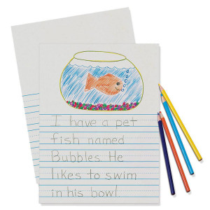 "Handwriting Story Paper Ream-7/8"" Ruling"