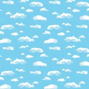 Clouds Fadeless Bulletin Board Paper
