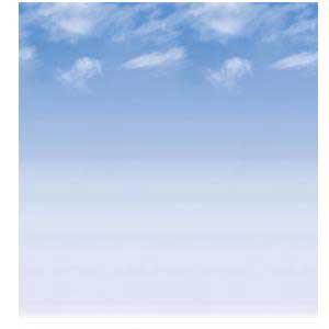Wispy Clouds Fadeless Bulletin Board Paper