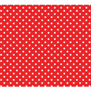 Red Polka Dot Fadeless Bulletin Board Paper