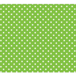 Lime Polka Dot Fadeless Bulletin Board Paper