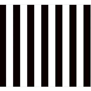 Black & White Stripe Fadeless Bulletin Board Paper