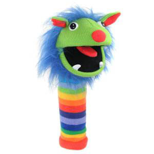 Rainbow Monster Puppet