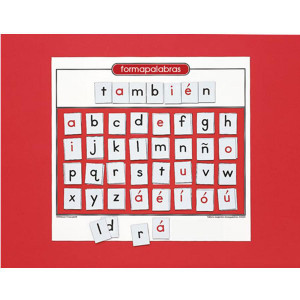 Magnetic Word Builder-Spanish