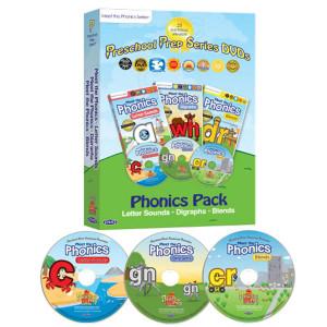 Meet the Phonics DVDs- 3 pack