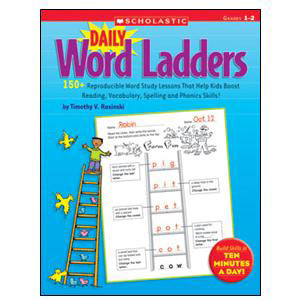 Daily Word Ladders Book Grades 1-2