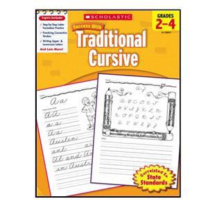 Scholastic Success with Trad. Cursive Book 2-4