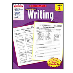 Scholastic Success with Writing Book Grade 3