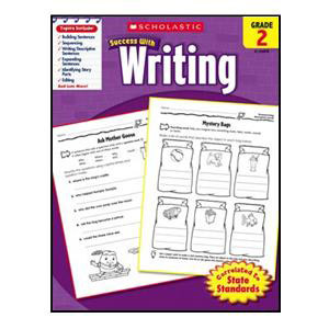Scholastic Success with Writing Book Grade 2
