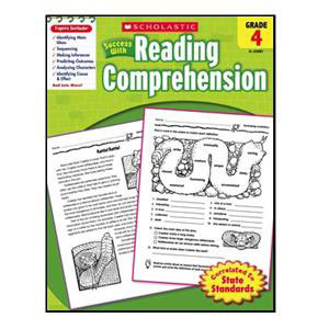 Scholastic Success with Reading Comp. Book Grade 4