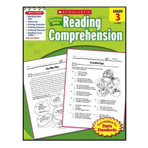 Scholastic Success with Reading Comp. Book Grade 3