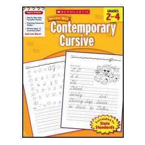 Scholastic Success Cont. Cursive Book Grades 2-4