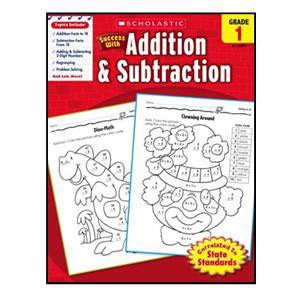 Scholastic Success with Add/Subtract Book Grade 1