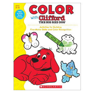 Color with Clifford the Big Red Dog Book