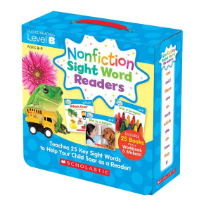 Nonfiction Sight Word Readers Pack-Level B