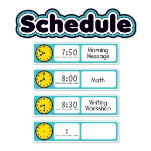 Aqua Oasis Schedule Mini Bulletin Board