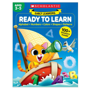 Early Learning Ready to Learn Workbook-Ages 3-5