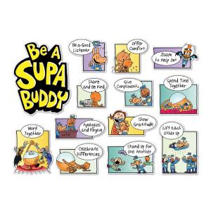 Dog Man: Be a Supa Buddy Bulletin Board