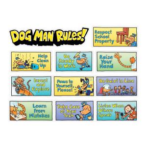 Dog Man: Class Rules Mini Bulletin Board