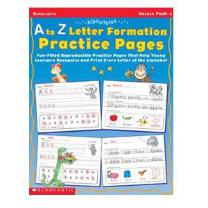A To Z Letter Formation Book