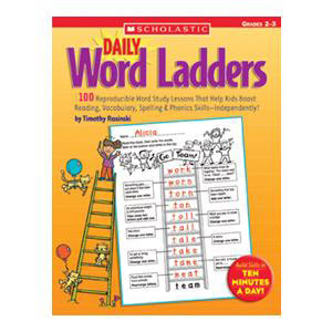 Daily Word Ladders Book Grades 2-3