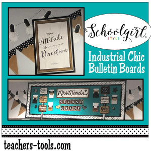 *Schoolgirl Style Industrial Chic Bulletin Boards
