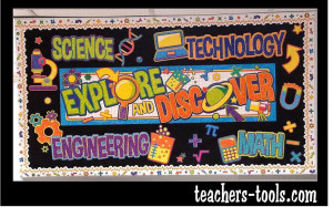 *STEM Banner Bulletin Board