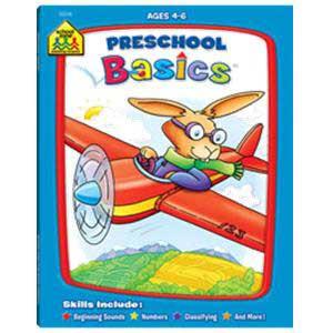 Preschool Basics Deluxe Workbook