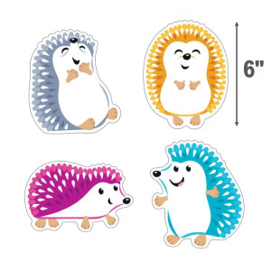 Colorful Hedgehogs Cut-Outs