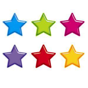 Gumdrop Stars Cut-Outs