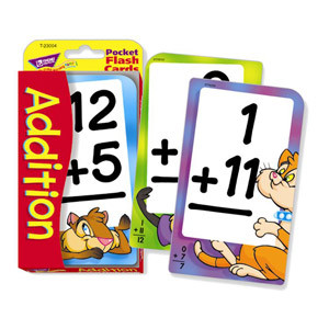 Addition Pocket Flash Cards