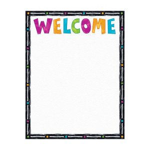 Color Harmony Welcome Poster
