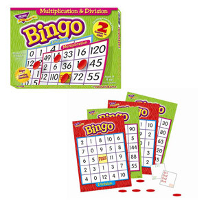 Multiplication/Division Bingo