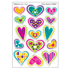 Artsy Heartsy Stinky Stickers