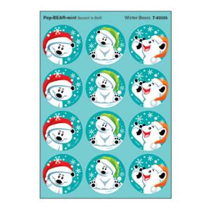 Winter Bears Stinky Stickers