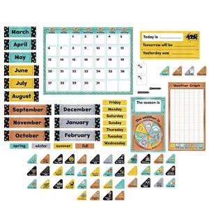 I Heart Metal Calendar Bulletin Board