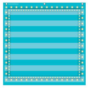 Marquee Light Blue Pocket Chart-7 Pockets