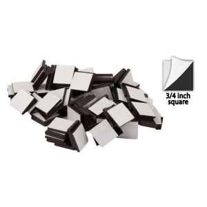 Adhesive Magnetic Squares-3/4""