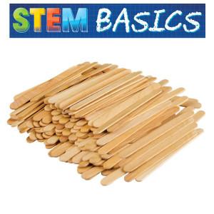 STEM Basics: Craft Sticks-250 count