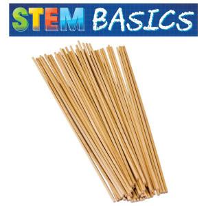 """STEM Basics: 1/8"""" Wood Dowels"""