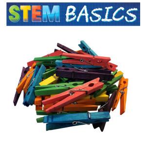 STEM Basics: Multicolor Clothespins
